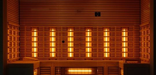 Sauna temperature - Infrared sauna