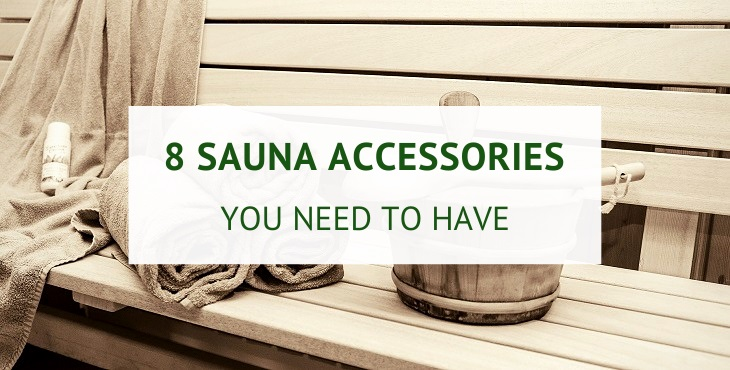 Best sauna accessories