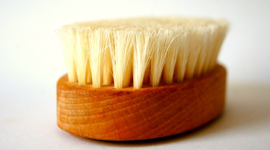Sauna body brush