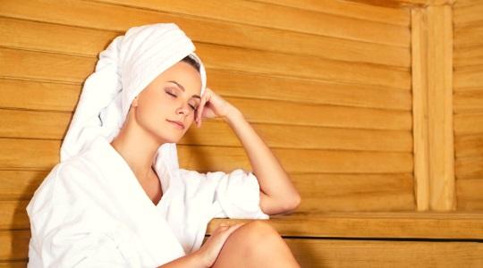 Sauna body wrap