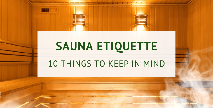 Sauna etiquette (practical guide)