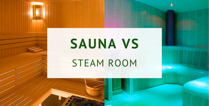 Sauna vs steam room (dry heat vs moist heat)